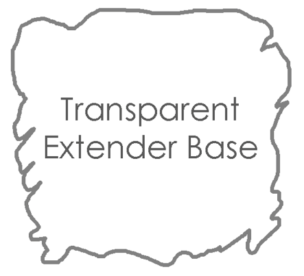 Transparent extender base