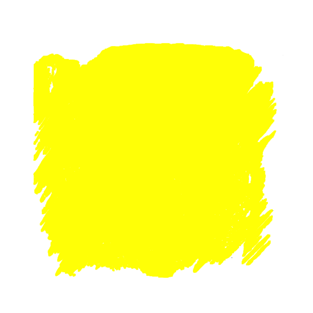 Lemon yellow ink