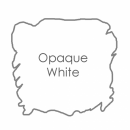 Opaque white ink